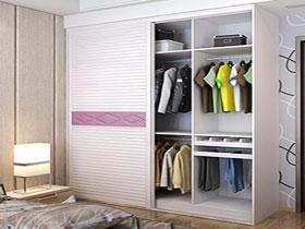 時尚簡約整體衣柜移門