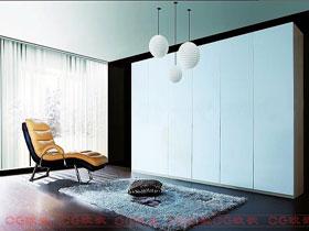 吉林森工级实木刨花板定制衣柜