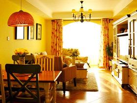 美式乡村两室一厅 梦想中温暖的家