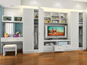 整体衣柜定制移动门衣柜床卧室家具