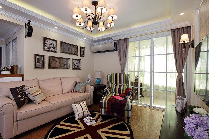 简约风格公寓温馨效果图