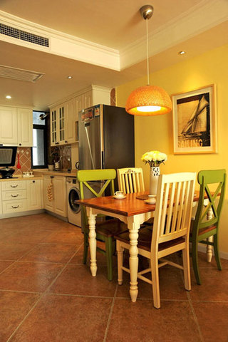 美式风格两室一厅装潢