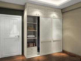 尚品宅配顶天立地 增大储存空间 衣柜设计方案