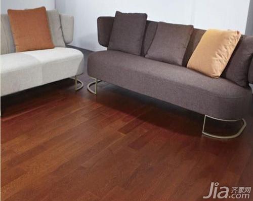 大自然实木地板榆木7695-质感空间最美享受 30款地板全方位推荐
