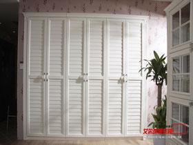 現代中式環保衣柜開門衣柜