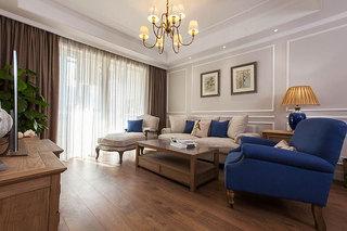 美式风格二居室舒适130平米客厅沙发沙发效果图
