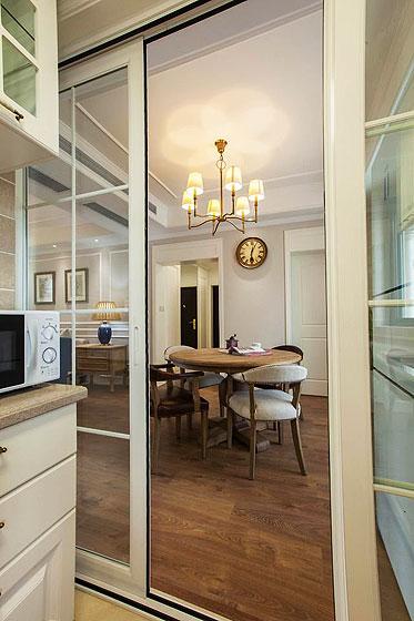美式风格二居室舒适130平米装修效果图