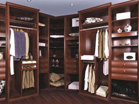 吉林森工实木颗粒板衣柜