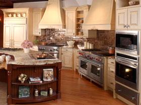 溫馨舒適歐式風格廚房