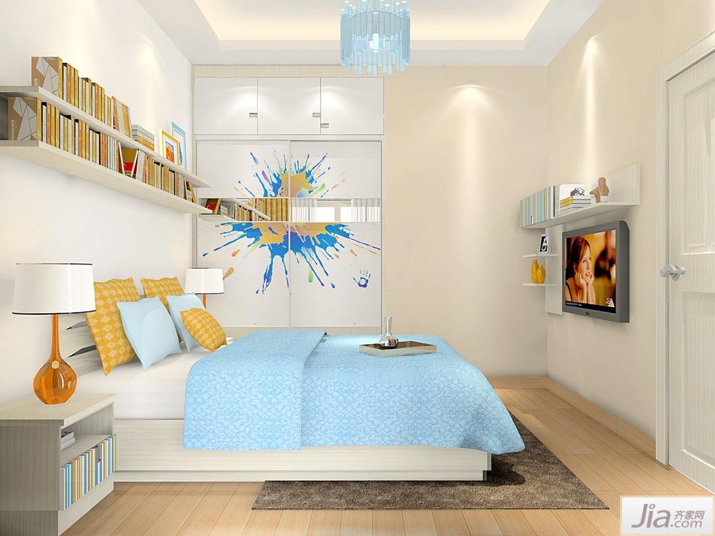 韩式家具风格卧室家具装修效果图图片