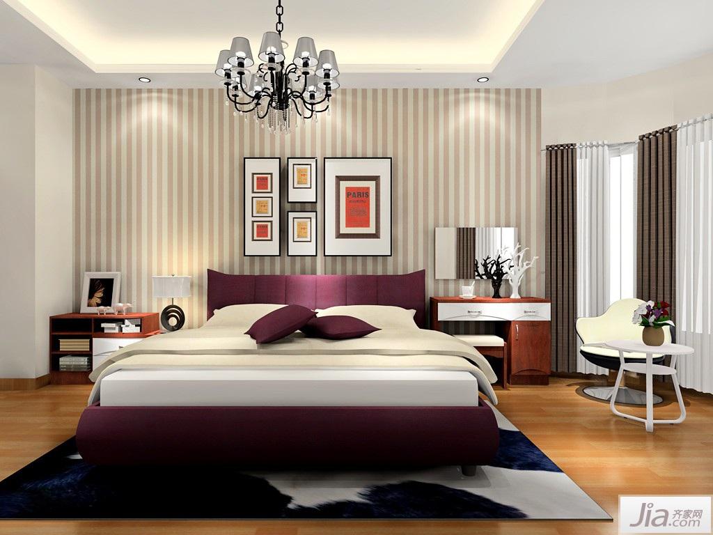 北欧风格卧室家具装修效果图图片