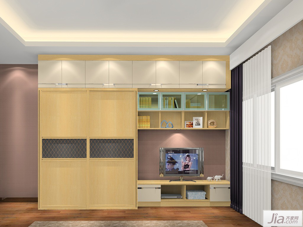 简欧风格卧室家具装修效果图图片