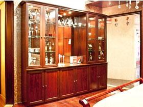 定制組合酒柜實木裝飾吧臺家具