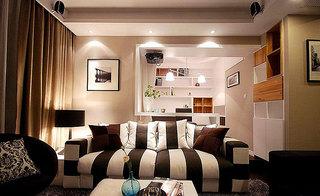 简约风格时尚130平米客厅沙发布艺沙发图片