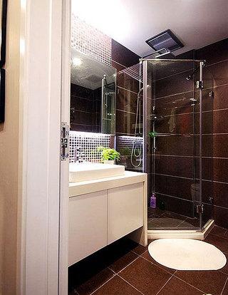 简约风格时尚130平米卫生间装潢