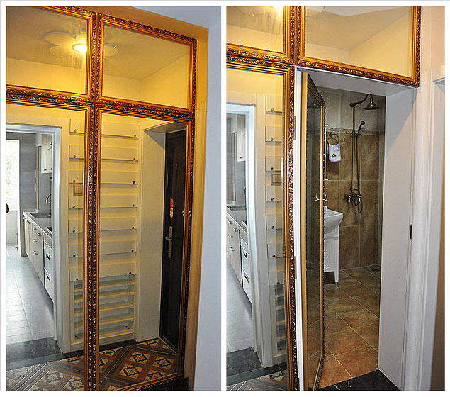 混搭风格两室一厅小清新70平米二手房家装图片