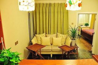 混搭风格两室一厅小清新70平米客厅二手房家居图片