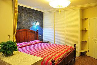 混搭风格两室一厅小清新70平米卧室二手房家装图