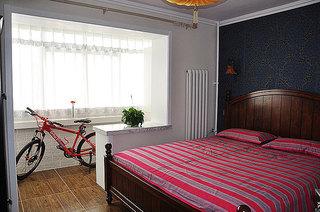 混搭风格两室一厅小清新70平米二手房平面图