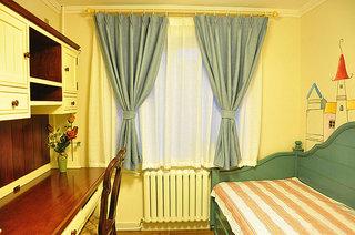 混搭风格两室一厅小清新70平米儿童房二手房设计图
