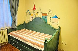 混搭风格两室一厅小清新70平米沙发二手房家装图