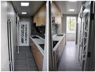 混搭风格两室一厅小清新70平米二手房设计图纸