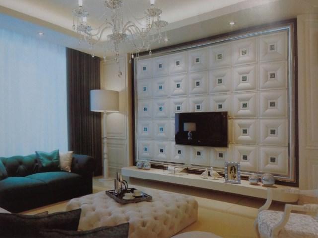 艺术客厅背景墙艺术漆沙发背景墙图片15
