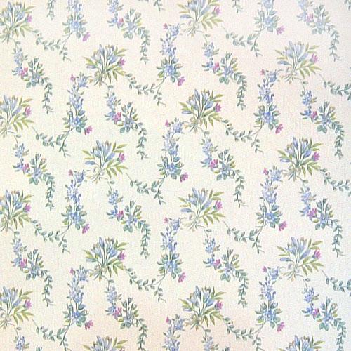 欧式田园小花 客厅卧室背景墙壁纸图片