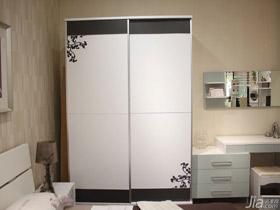 現代簡約感移門衣柜
