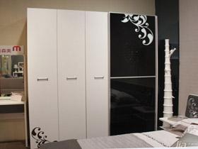 自由现代风格组合式衣柜