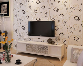 2014年最流行 50款电视背景墙效果图40/44