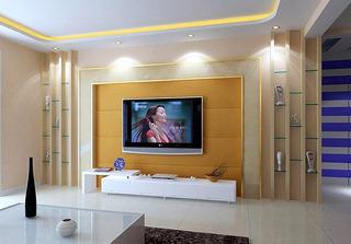 2014年最流行 50款电视背景墙效果图44/44