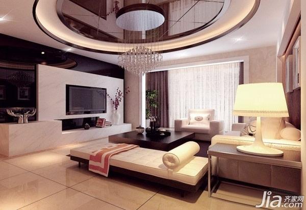 15款简欧电视背景墙 炫目客厅优雅延续图片