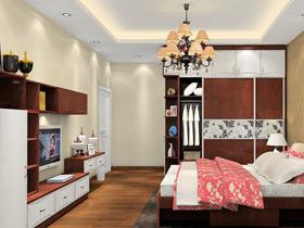 北歐風格臥室家具裝修效果圖