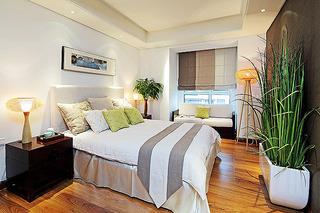 中式风格复式140平米以上卧室装潢