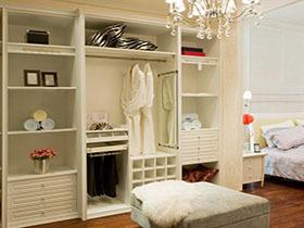 衣柜白色衣帽间定制移门衣柜