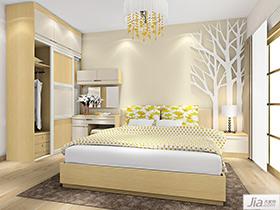 简欧风格卧室家具装修效果图