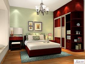 现代简欧风格卧室家具装修效果图