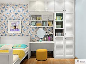 韩式田园风格卧室家具装修效果图