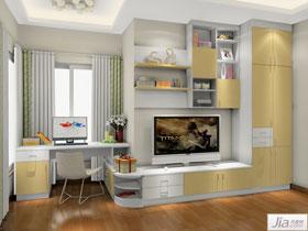 現代家具風格臥室家具裝修效果圖