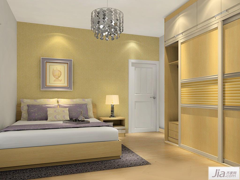 簡歐風格臥室家具裝修效果圖