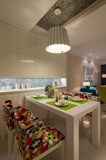 公寓小清新100平米餐厅装修
