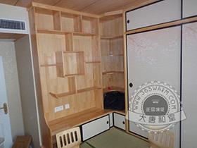 日式书柜书架书桌