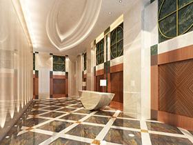 豪华瓷砖地板装饰地板