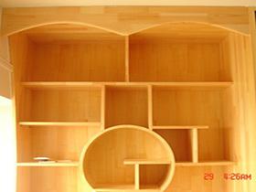 日式书柜 书架 书桌