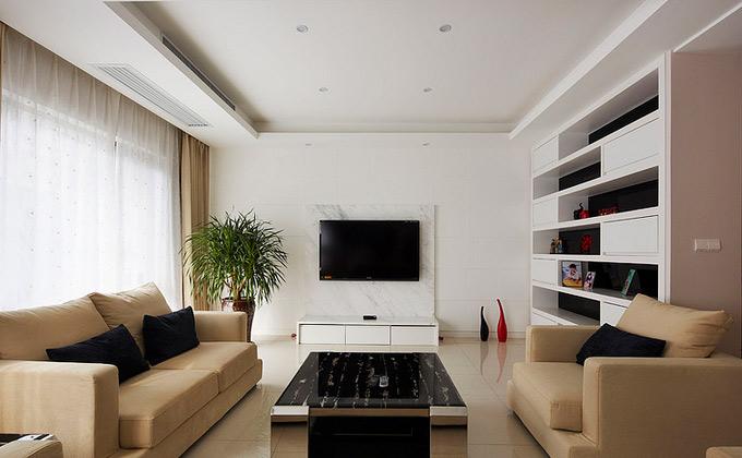 单身公寓装修效果图 欧式风格公寓奢华140平米以上厨房吊顶壁纸图片