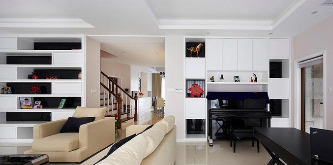 三室一厅简洁装修图片