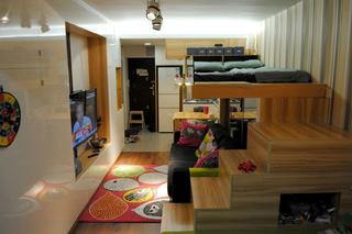 超出位设计 33平轻松改造两室一厅