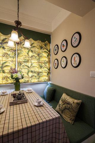 美式风格两室一厅小清新80平米餐厅效果图