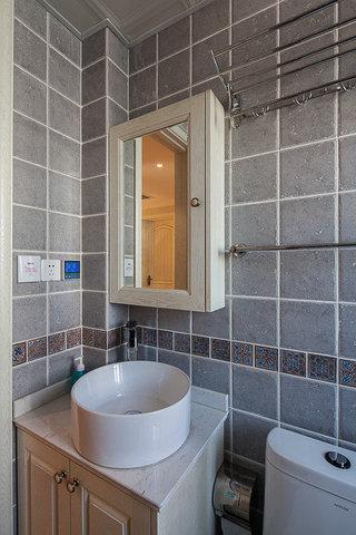 美式风格两室一厅小清新80平米装修效果图